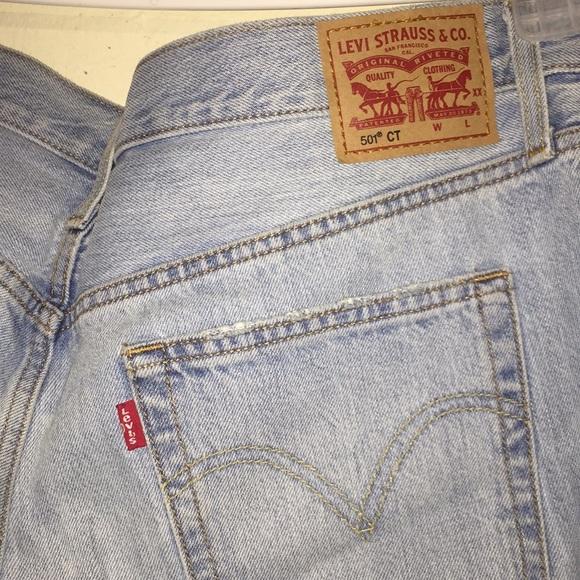 LEVI'S Light blue  distressed ripped jeans (men)